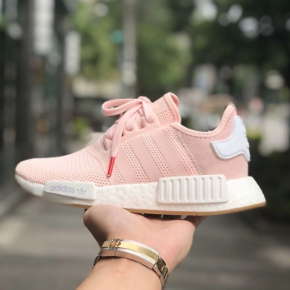 ADIDAS nmd r1 bubble gum pink white womens size 10